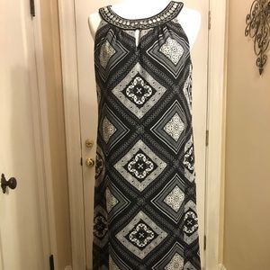 NWT R&K MAXI DRESS - 4